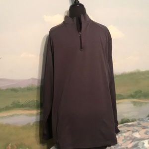 Men's BOA dark grey half zip